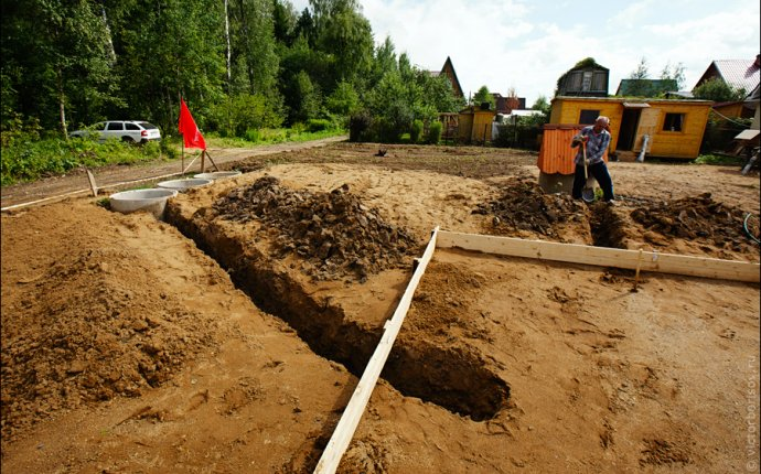 Дачное строительство: Фундамент (часть 1): victorborisov