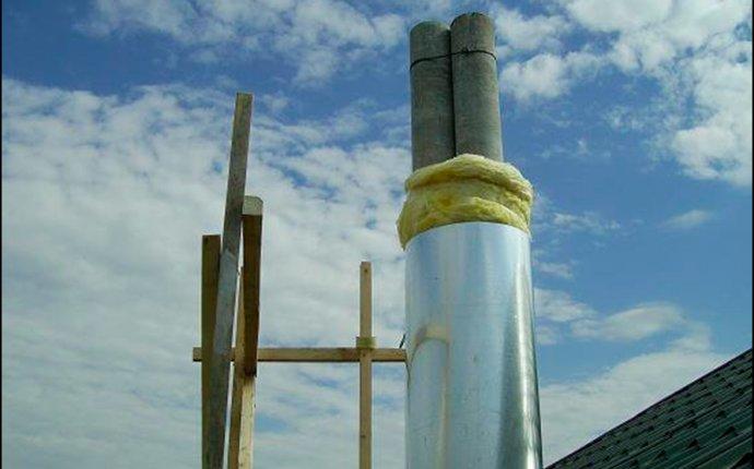 Изоляция дымохода газового котла и его рабочих элементов