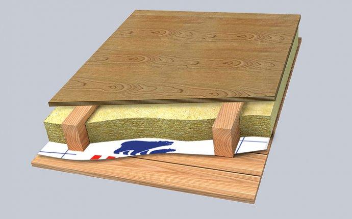 Области применений минеральной ваты URSA: Теплоизоляция перекрытий