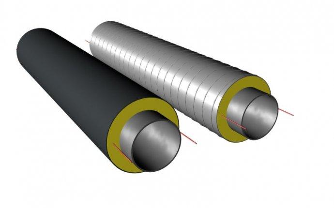 Прокладка сетей теплоснабжения с применением труб ППУ по ГОСТ