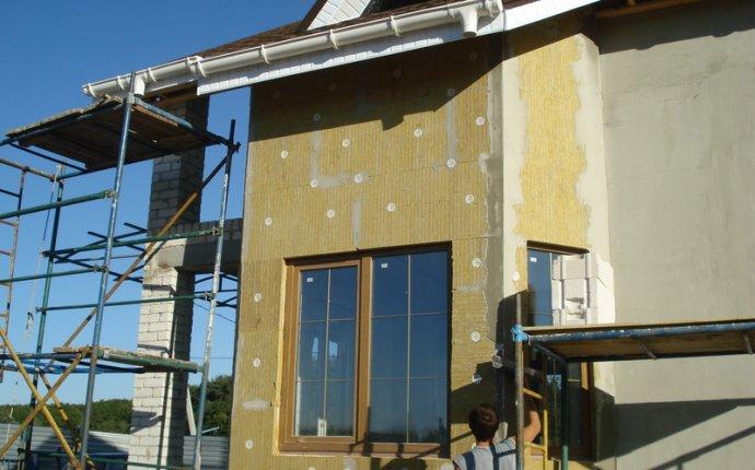 Технология утепления стен минеральной ватой | Строительный портал